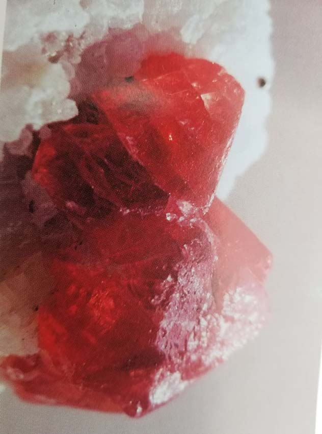 Spinel the gem of hunza valley.